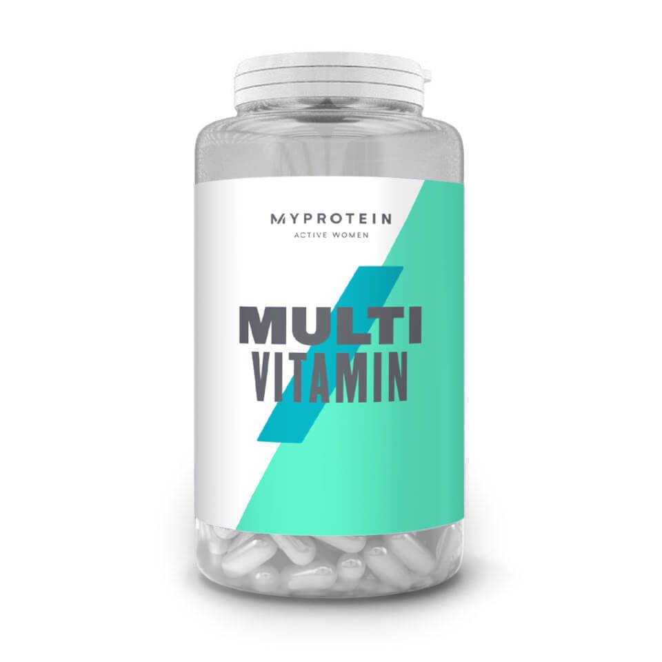 Витамины и минералы MyProtein Active Woman Multivitamin, 120 таблеток
