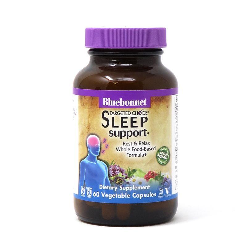 Натуральная добавка Bluebonnet Targeted Choice Sleep Support, 60 вегакапсул