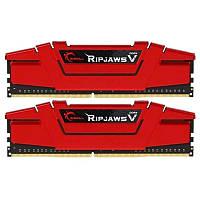 Модуль памяти DDR4 2х16GB/2666 G.Skill Ripjaws V Red (F4-2666C19D-32GVR)