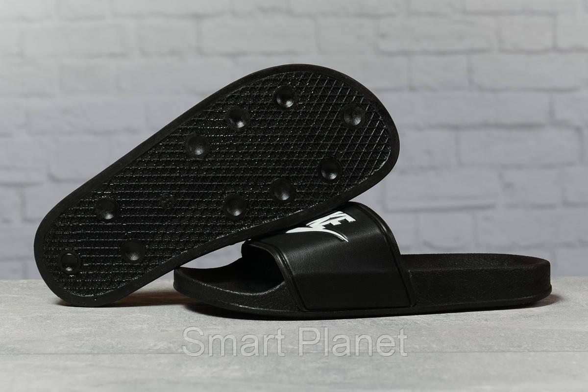 Шлепанцы женские 17352, Nike, черные, < 37 38 39 > р. 37-23,5см.