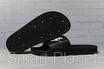 Шлепанцы женские 17352, Nike, черные, < 37 38 39 > р. 37-23,5см., фото 2