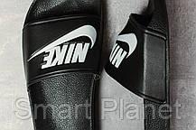 Шлепанцы женские 17352, Nike, черные, < 37 38 39 > р. 37-23,5см., фото 3