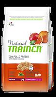 Сухой корм Trainer Natural Super Premium Puppy&Junior Medium для щенков пород средних размеров 0.65 кг.