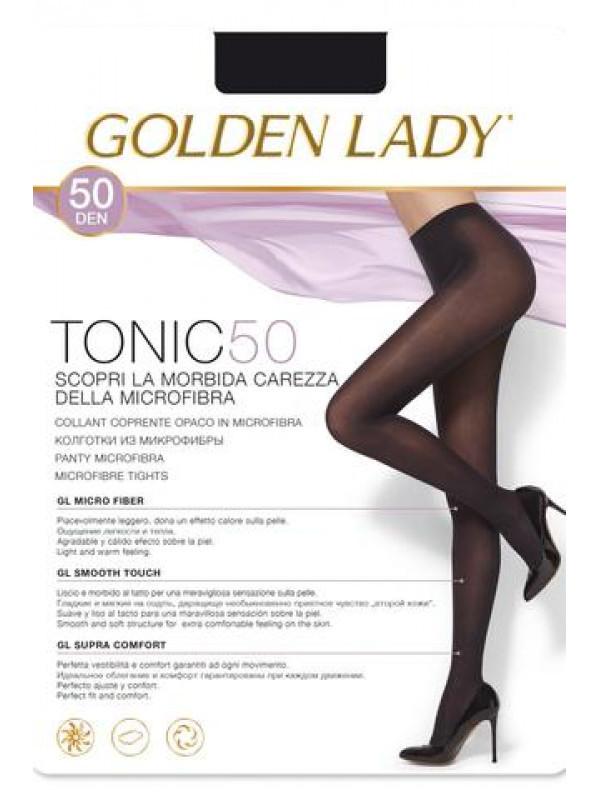Golden Lady Tonic 50 Den колготки из микрофибры, все размеры, все цвета