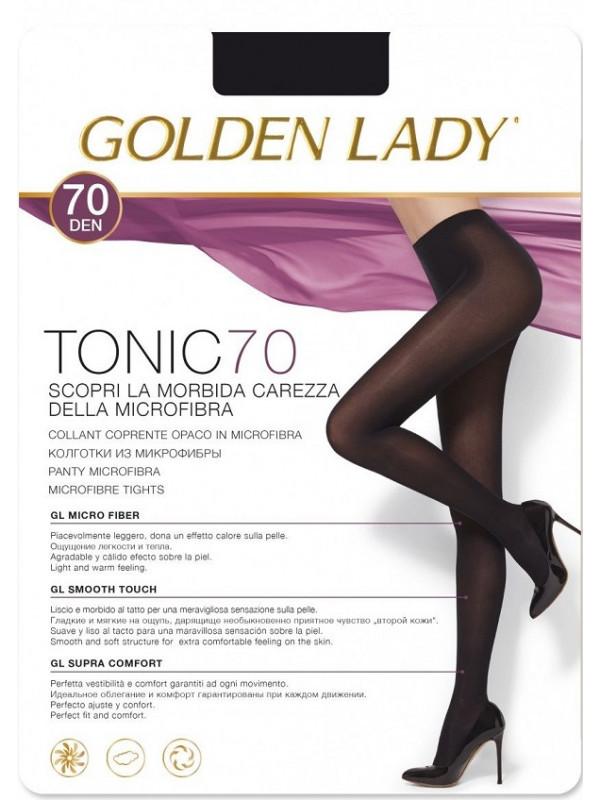 Golden Lady Tonic 70 Den плотные колготки из микрофибры, все размеры, все цвета