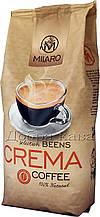 Кофе в зернах Milaro Crema (30% Арабика) 1 кг