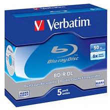 Диск BD Verbatim DL 50Gb 6x Jewel Case 5шт (43748)