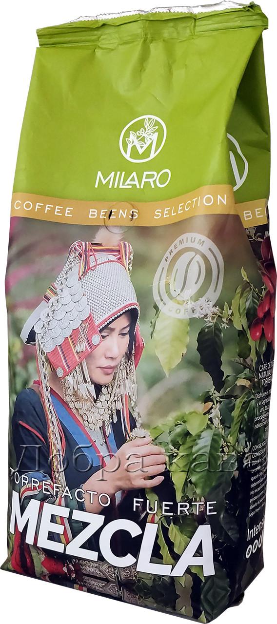 Кофе в зернах Milaro Mezcla (50% Арабика) 1 кг