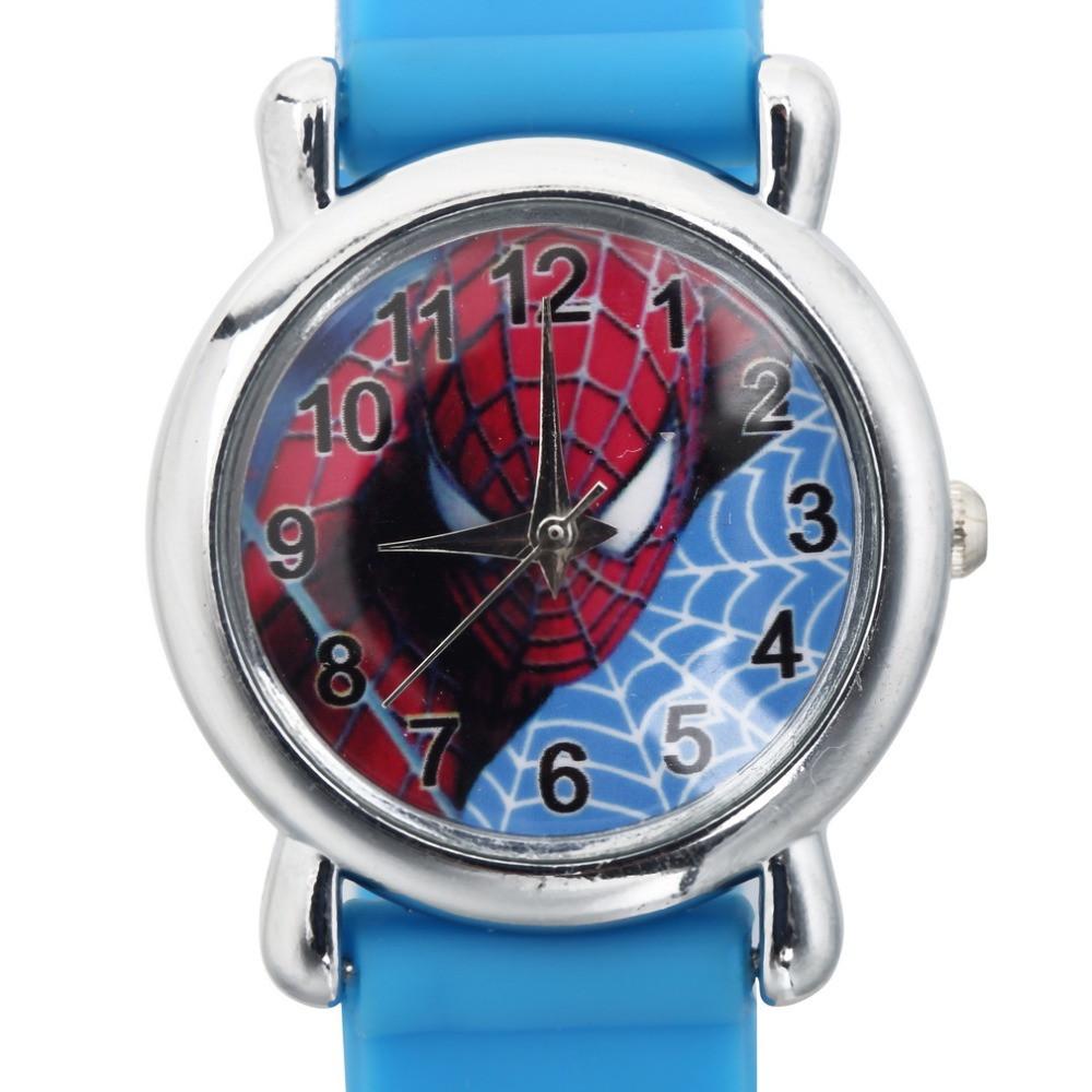 Часы детские кварцевые на силиконовом ремешке 72216 синие