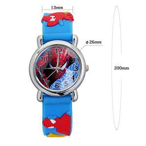 Часы детские кварцевые на силиконовом ремешке 72216 синие, фото 2