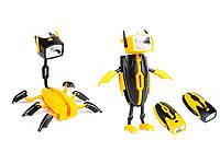 Фонарь трансформер - Робот Скорпион (фонарик паук)