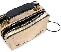 Сумка Marc Jacobs THE TEXTURED MINI BOX BAG PLATINUM Gold usa 100% original QR Код (золото) M0016183-710, фото 3
