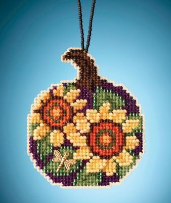 Набор для вышивки Sunflower Pumpkin Тыква с подсолнухами Mill Hill