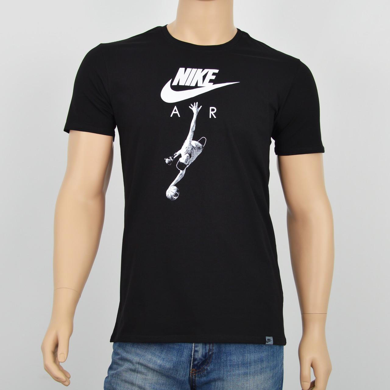 Мужская футболка NIKE (реплика) Черный