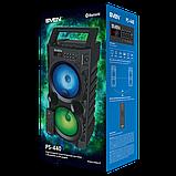 Колонка SVEN PS-440 Black (20W, TWS, Bluetooth, FM, USB, microSD, LED-display, RC, 2x2000mA*h), фото 3