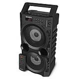 Колонка SVEN PS-440 Black (20W, TWS, Bluetooth, FM, USB, microSD, LED-display, RC, 2x2000mA*h), фото 10