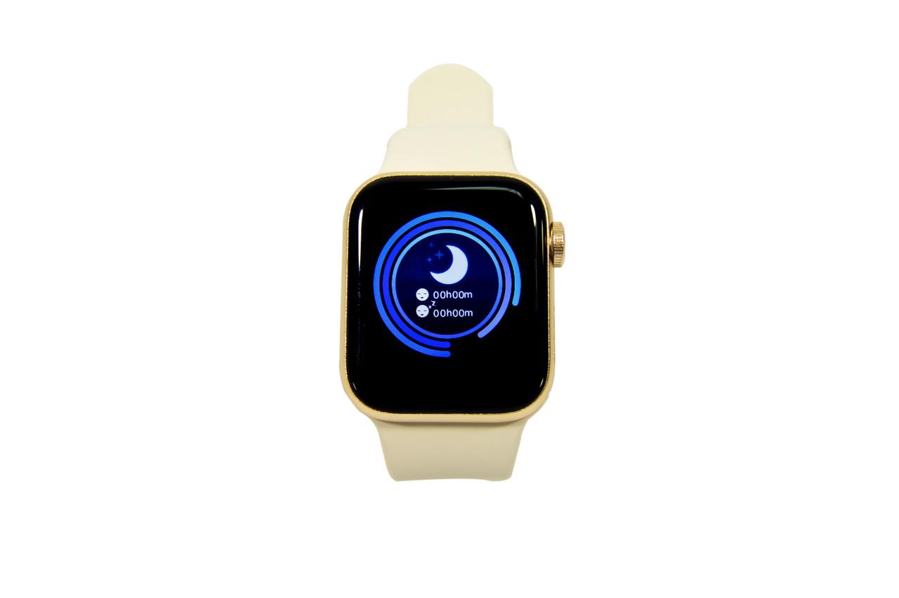 Умные часы Smart Life watch W58 (фитнес-браслет, смарт часы золотые)
