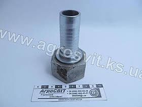 """Ниппель DKR 1.1/4""""-11 (под шланг dу=25 мм.)"""
