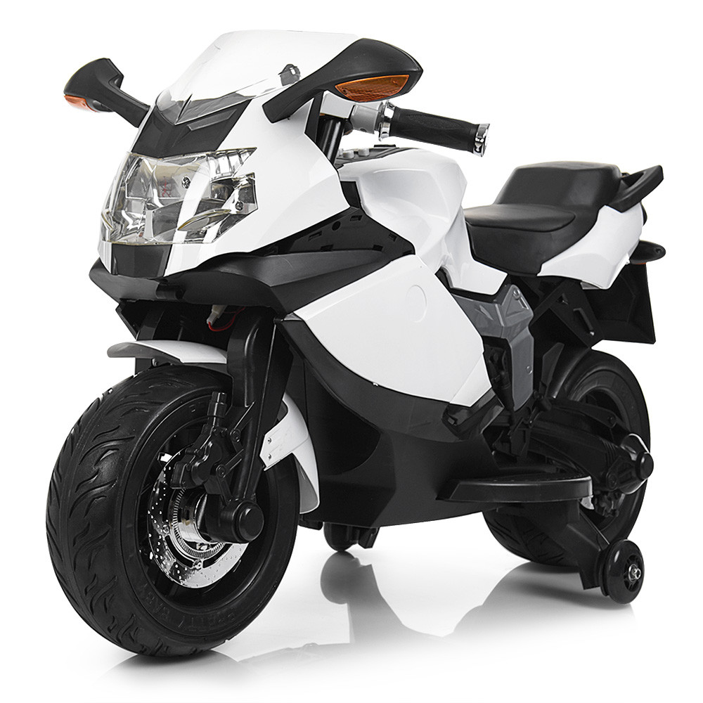 Мотоцикл Bambi M 3636EL-1 Белый