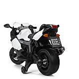 Мотоцикл Bambi M 3636EL-1 Белый, фото 3