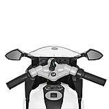 Мотоцикл Bambi M 3636EL-1 Белый, фото 4