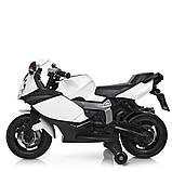 Мотоцикл Bambi M 3636EL-1 Белый, фото 5