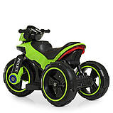 Мотоцикл Bambi M 4228EBL-5 Зеленый, фото 2