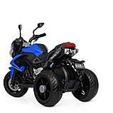 Мотоцикл Bambi M 4152EL-4 Синий, фото 5