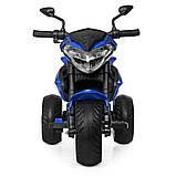 Мотоцикл Bambi M 4152EL-4 Синий, фото 3