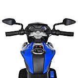 Мотоцикл Bambi M 4152EL-4 Синий, фото 2