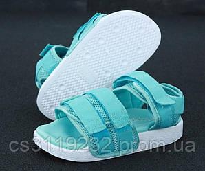 Женские сандали Adidas (мята)