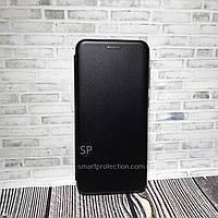 Чехол книжка Premium Leather Case для Samsung A50 черный
