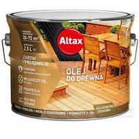Масло для дерева Altax 2.5л Тик