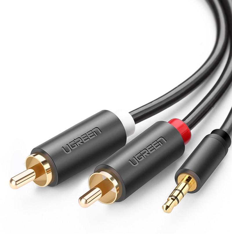 Ugreen аудио кабель 3.5 mm - RCA 2 метра (10772)
