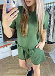 Костюм жіночий літній повсякденний костюм з шортами (в кольорах), фото 2