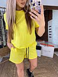 Костюм жіночий літній повсякденний костюм з шортами (в кольорах), фото 10