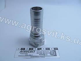 """Ниппель DKR 1""""-11 (под шланг dу=25 мм.)"""
