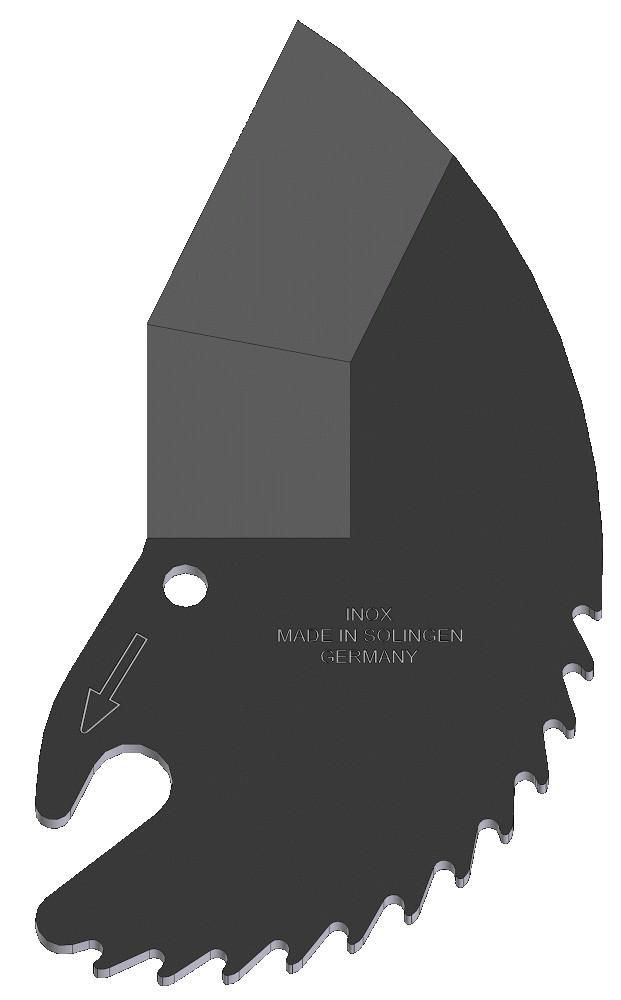 Запасное лезвие для ножниц Zenten 35 мм