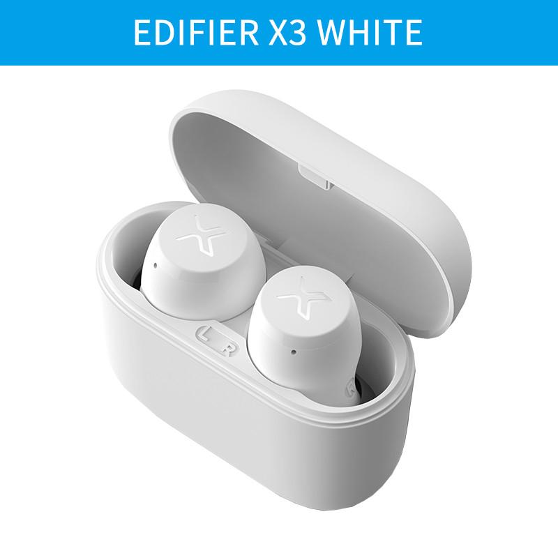 Бездротові білі Bluetooth навушники EDIFIER X3 White Оригінал