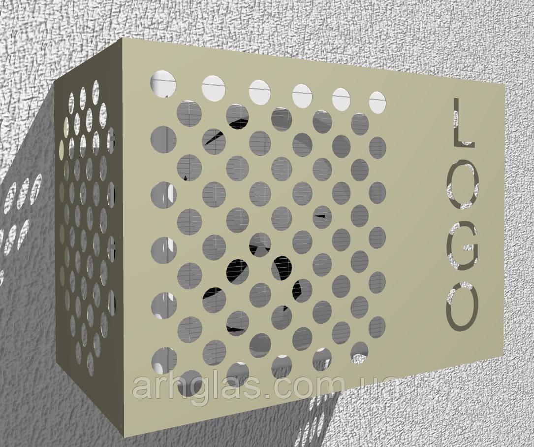 Кошик для кондиціонера ArhBasket Р кошик для кондиціонера Захисна коробка для кондиціонера фасадна