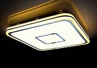 Светодиодная люстра  с пультом BIOM 90W 530х530х65 3000-6000К