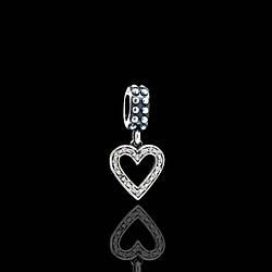 Шармы-подвески Пандора (Pandora) серебряные