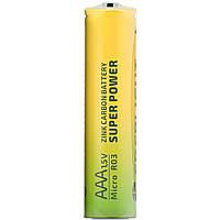 Батарейка солевая Enerlight Super Power R3 AAA минипальчиковая (трей)
