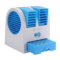 Вентилятор-кондиционер Mini Fan HB-168 портативный, переносной, настольный