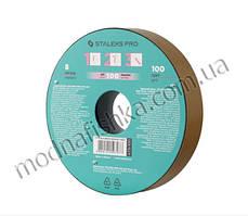 ATS-100 Запасний блок файл-стрічки для котушки Bobbi Nail 100 грит (8 м) STALEKS PRO