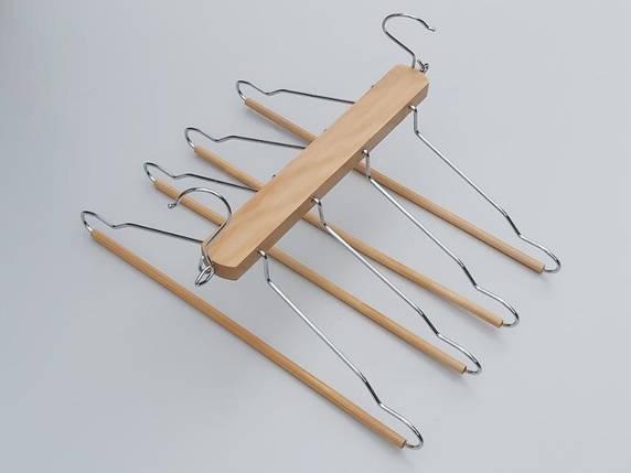 Плечики 4-ярусные  лестница, длина 41 см, фото 2