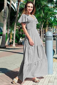 Недорогое летнее платье Гледис черное
