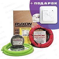 Теплый пол электрический Ryxon 90 м / 1800 Вт / 9 м² нагревательный кабель для укладки под плитку в клей