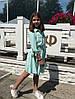 """Расклешенное детское платье """"Алена"""" на пуговицах (3 цвета), фото 4"""