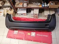 Бампер задний Renault Duster (Original 850220034R) с отверстиями под парктроник